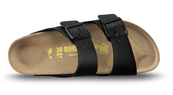 Arizona Svart BF Birkenstock normal